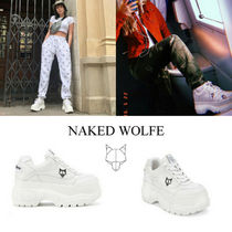 Naked Wolfe(ネイキッドウルフ) スニーカー 送料/関税込【Naked Wolfe】 Scary Leather インスタ人気