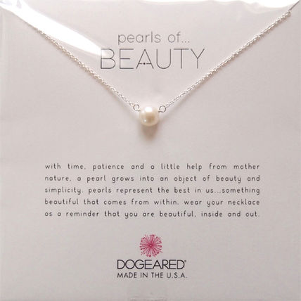 Dogeared(ドギャード) pearls of beauty ネックレス シルバー