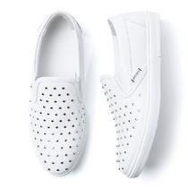 JIMMY CHOO スリッポンシューズ grove-ood-white-s