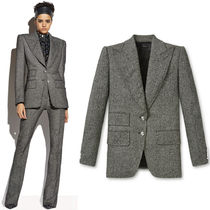 18-19AW TF071 TWEED DOUBLE BREASTED JACKET