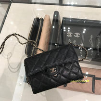 CHAIN WALLET チェーンウォレット シャネル 国内発送 2018AW