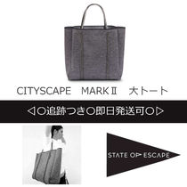 State of Escape(ステイトオブエスケープ) トートバッグ ◆STATE OF ESCAPE◆一点限定◆追跡付/即発可◆CITYSCAPE MARKⅡ