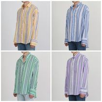 日本未入荷D-CLIPのOver fit stripe color shirts 全4色