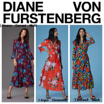 【DVF】●お買い得●Collared Wrap Dress Cover-Up
