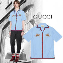 18-19AW 新作 数量限定♪【GUCCI】フィルクーペ タイガー シャツ