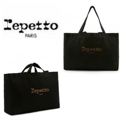 repetto トートバッグ コットントートバッグ  Cabas Ballerine Fillette ☆ REPETTO