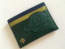 TORY BURCH TURTLE CARD CASE セール !! 即発送デス