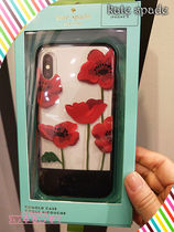 kate spade☆iPhoneケースポピー★POPPY RESIN CASE-X