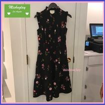 【kate spade】復刻★素敵な花柄♪in bloom smocked waist dress