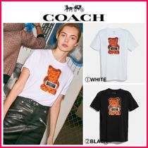 新作18-19AW☆COACH*Vandal Gummy Coach Edition T-Shirt