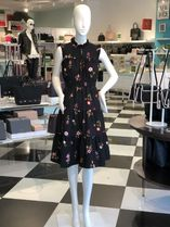 復刻花柄ワンピ!Kate spade★in bloom smocked waist dress