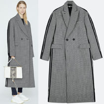 18-19AW SM465 CHANA BICOLOR WOOL COAT