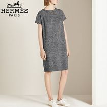 【18RESORT】HERMES*エルメス*Chain dress*ドレス