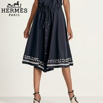 【18RESORT】HERMES*エルメス*Moroccan skirt*スカート