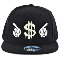 SNAPBACK  EXCLUSIVE TASTE 蓄光プリント  キャップEXPENSIVE