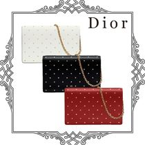 Dior STARS WALLET ON CHAIN クラッチ 国内直営店 すぐ届く