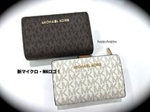 【MICHAEL KORS】BIFOLD ZIP WALLET☆折り財布MKマイク・ロゴ