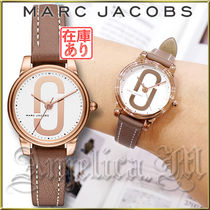 ★安心ヤマト便★MARC JACOBS Corie Cement 3 Hand Watch MJ1581