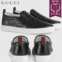 【正規品保証】GUCCI★18秋冬★GUCCI SIGNATURE SLIP-ON SNEAKER