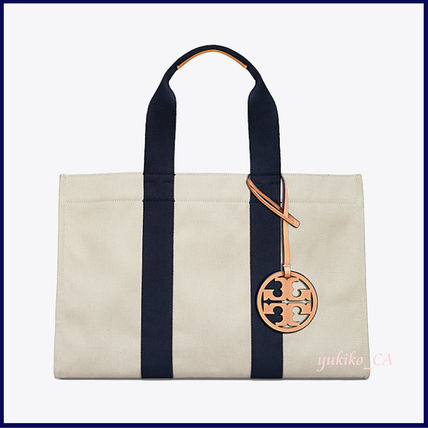 Tory Burch マザーズバッグ 【国内発送】MILLER LARGE CANVAS TOTE セール(2)