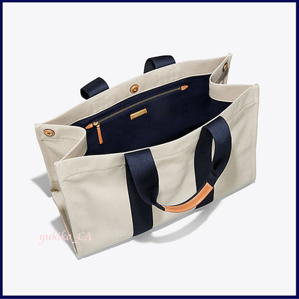 Tory Burch マザーズバッグ 【国内発送】MILLER LARGE CANVAS TOTE セール(4)
