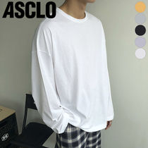 ASCLO(エジュクロ) Tシャツ・カットソー ★ASCLO★ solid washing t shirts