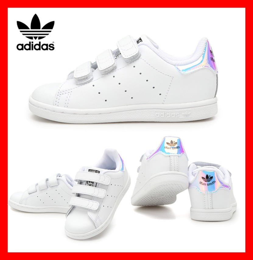 official photos 2ad35 033be adidas STAN SMITH 2018 SS Unisex Street Style Baby Girl Shoes