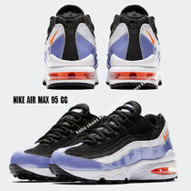 NIKE★AIR MAX 95 GG★BLACK/TWILIGHT PULSE