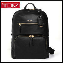 TUMI(トゥミ) バックパック・リュック (トゥミ) TUMI HALLE LEATHER BACKPACK BLACK 17001D