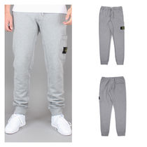 セレブ愛用!!STONE ISLAND COTTON LOGO SWEATPANTS