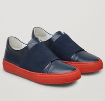 """COS KIDS"" WRAP-OVER SNEAKERS NAVY/RED"