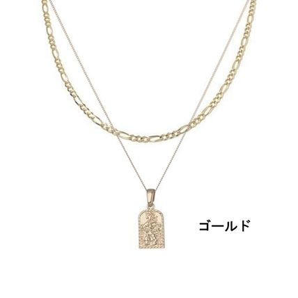 Chained & Able ネックレス・チョーカー 関税込 Chained & Able☆タグペンダント&チェーンネックレス*2色(3)