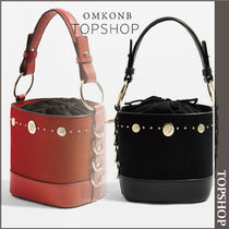 【国内発送・関税込】TOPSHOP★Stud Bucket Bag