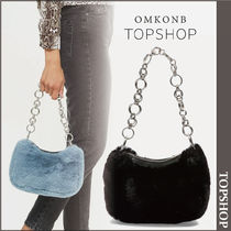 【国内発送・関税込】TOPSHOP★ Faux Fur Shoulder Bag