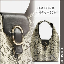 【国内発送・関税込】TOPSHOP★Haya Snake Effect Hobo Bag