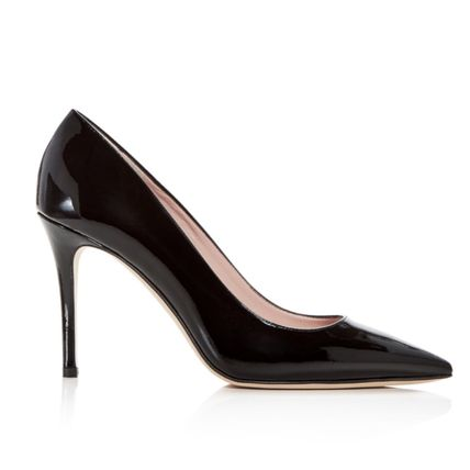 kate spade new york シューズ・サンダルその他 Kate Spade★Vivien Patent Leather Kitten-Heel Pumps☆セール(4)