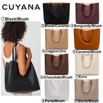 CUYANA(クヤナ) トートバッグ 【CUYANA】●日本未入荷●Classic Structured Leather Tote