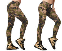 ★国内発送★ ズンバ Zumba Z Army Zumba Jeggings Army Green