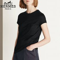 【18RESORT】HERMES*エルメス*Embroidered t-shirt*Tシャツ