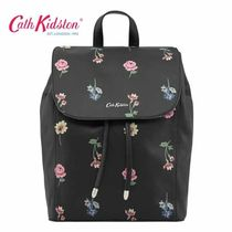 ☆Cath Kidston☆LEATHER THE SAXHAM BACKPACK☆