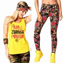 2点/ZUMBA/ズンバ/PowerTank&RevolutionPerfectLongLeggings