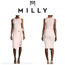 Milly(ミリー) ワンピース MILLY SALE! Ruffle Tie Wrap Dress ドレス