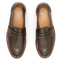 Church's Brushed Calfskin Moccasins モカシン