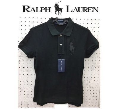 POLO RALPH LAUREN THE SKINNY POLO 半袖 ポロシャツ BIGロゴ