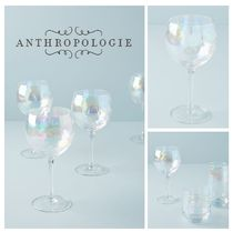 春☆ANTHROPOLOGIE☆Lustered Wine Glasses4Set 税送込
