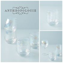 春☆ANTHROPOLOGIE☆Lustered Stemless Wine Glasses4Set 税送込