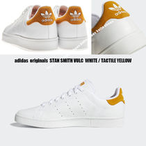 adidas★STAN SMITH VULC★本革★兼用★WHITE/TACTILE YELLOW