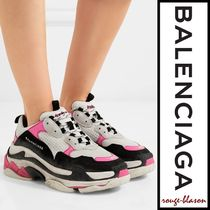 【国内発送】Balenciaga スニーカー Triple S mesh and nubuck