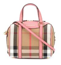 【 Burberry 】スモール ALCHESTER ボーリングバッグ ピンク