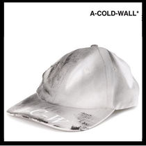 A-COLD-WALL(アコールドウォール) キャップ 残り僅か!!【 A-COLD-WALL】ペイントキャップ【送関込】
